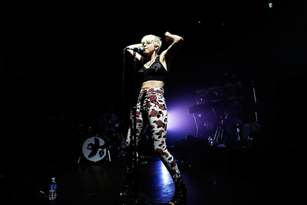 NEW YORK - AUGUST 05:  Robyn performs in concert at Webster Hall on August 5, 2010 in New York City.  (Photo by Joe Kohen/WireImage for New York Post)