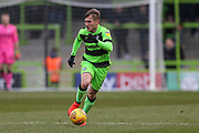 Forest Green Rovers George Williams(11) runs forward during the EFL Sky Bet League 2 match between Forest Green Rovers and Yeovil Town at the New Lawn, Forest Green, United Kingdom on 16 February 2019.