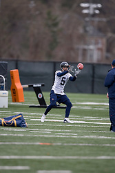 Virginia Cavaliers TB Mikell Simpson (5)<br /> <br /> The Virginia Cavaliers football team opened their spring practice season on March 21, 2007 on the football practice fields behind University Hall in Charlottesville, VA.