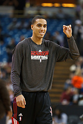 March 7, 2011; Sacramento, CA, USA;  Houston Rockets shooting guard Kevin Martin (12) warms up before the game against the Sacramento Kings at the Power Balance Pavilion. Houston defeated Sacramento 123-101.