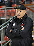 Picture by David Horn/Focus Images Ltd +44 7545 970036<br /> 17/09/2013<br /> Russell Slade Manager of Leyton Orient looks on during the Sky Bet League 1 match at the Matchroom Stadium, London.