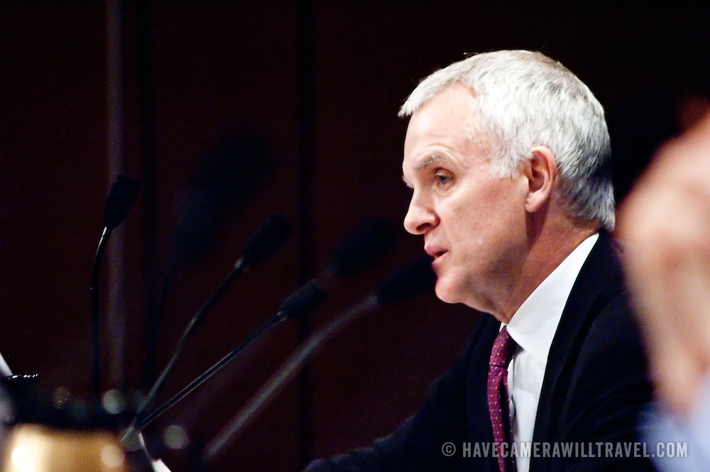 "Commission member Bob Kerrey. Panel: Al Qaeda. The 9/11 Commission's 12th public hearing on ""The 9/11 Plot"" and ""National Crisis Management"" was held June 16-17, 2004, in Washington, DC."