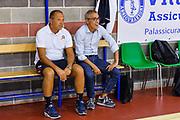 Luigi Usai, Giovanni Zucca<br /> Trofeo di Nuoro<br /> Banco di Sardegna Dinamo Sassari - Cagliari Dinamo Academy<br /> Nuoro, 13/09/2017<br /> Foto L.Canu / Ciamillo-Castoria