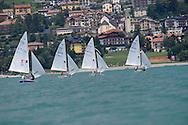 Regata nel lago di Molveno, 1 Agosto 2009 © foto Daniele Monsa