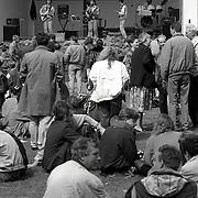 NLD/Baarn/19920430 - Koninginnedag 1992 Baarn, optreden band
