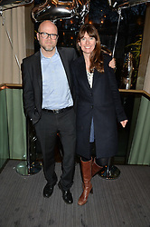 TOBY & CAROLINE YOUNG at the 3rd birthday party for Spectator Life magazine hosted by Andrew Neil and Olivia Cole held at the Belgraves Hotel, 20 Chesham Place, London on 31st March 2015.