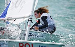 FranceLaser RadialWomenHelmFRALC33LouiseCervera<br />Day5, 2015 Youth Sailing World Championships,<br />Langkawi, Malaysia
