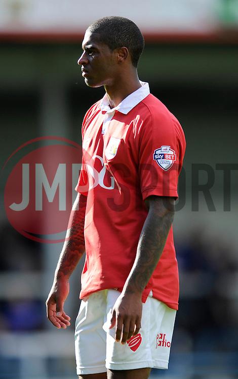 Bristol City's Mark Little - Photo mandatory by-line: Dougie Allward/JMP - Mobile: 07966 386802 23/08/2014 - SPORT - FOOTBALL - Manchester - Spotland Stadium - Rochdale AFC v Bristol City - Sky Bet League One