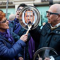 Popolo Viola dimissioni Berlusconi