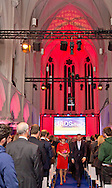 1-12-2016 DEN BOSCH - Queen Maxima opens Thursday, December 1st, the Hieronymus Academy of Data Science (JADS) in the former convent Marienburg in 's-Hertogenbosch. Queen Maxima first attends the opening program at the Mary Chapel and then given a tour of the building. There they talk to students and scientists on the activities of the academy. In conclusion it provides the opening of the academy. COPYRIGHT ROBIN UTRECHT <br /> <br /> 1-12-2016 DEN BOSCH - Koningin Maxima opent donderdag 1 december de Jheronimus Academy of Data Science (JADS) in het voormalig klooster Mari&euml;nburg in &rsquo;s-Hertogenbosch. Koningin Maxima woont eerst het openingsprogramma bij in de Mariakapel en krijgt aansluitend een rondleiding door het gebouw. Daar praat zij met studenten en wetenschappers over de activiteiten van de academie. Als afsluiting verricht zij de opening van de academie. COPYRIGHT ROBIN UTRECHT
