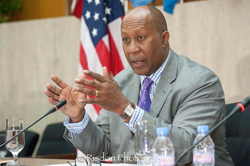US Trade Representative Ron Kirk at Council of the Americas