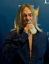 Mutua Madrid Open. Tennis. The Pop Star Iggy Pop at Schweppes Sky Vip area at TMMO, Madrid. Spain, 9 May 2013.  Photo by E W. Moore / DyD Fotografos / i-Images...SPAIN OUT..