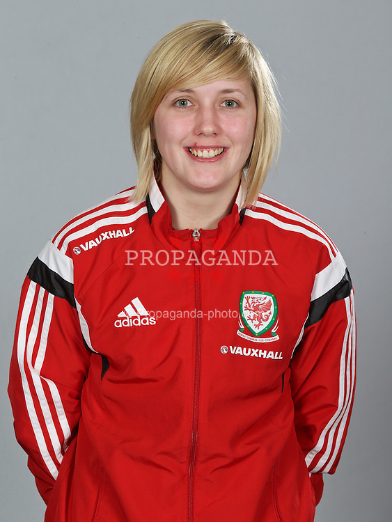 NEWPORT, WALES - Sunday, February 8, 2015: Wales' Cori Williams. (Pic by David Rawcliffe/Propaganda)
