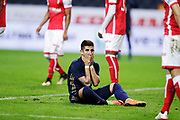 SOLNA, SWEDEN - JULY 27: Nicolas Stefanelli of AIK dejected during the UEFA Europa League Qualifying match between AIK and SC Braga at Friends arena on July 27, 2017 in Solna, Sweden. Photo by Nils Petter Nilsson/Ombrello
