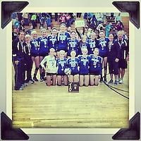 10.25.2012 Avon Lake vs Brunswick Varsity Volleyball