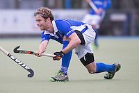 UTRECHT- Hockey -  Floris de Ridder van Kampong tijdens de hoofdklasse competitiewedstrijd tussen de mannen van Kampong en HGC (2-1). COPYRIGHT KOEN SUYK