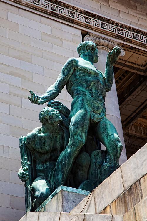 Capitolio bronze, Havana Vieja, Cuba.