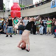 B-Boy dancers at Movement 2008 (Detroit Electronic Music Festival).