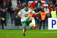 Franck Tabanou - 14.12.2014 - Nice / Saint Etienne - 18eme journee de Ligue1<br />Photo : Manuel Blondeau / Icon Sport