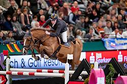 WERNKE Jan (GER), Queen Rubin<br /> Leipzig - Partner Pferd 2019<br /> IDEE Kaffe Preis<br /> CSI5*<br /> 18. Januar 2019<br /> © www.sportfotos-lafrentz.de/Stefan Lafrentz