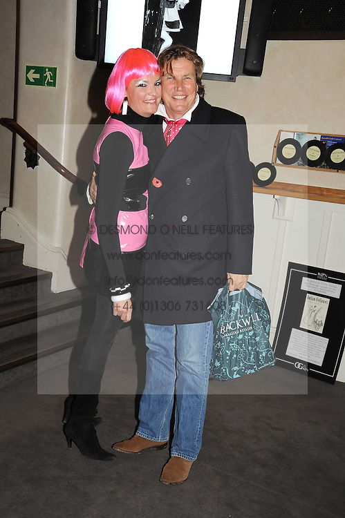 EMMA KITCHENER-FELLOWES and THEO FENNELL at a party to celebrate the publication of 'Past Imperfect' by Julian Fellowes held at Cadogan Hall, 5 Sloane Terrace, London SW1 on 4th November 2008.