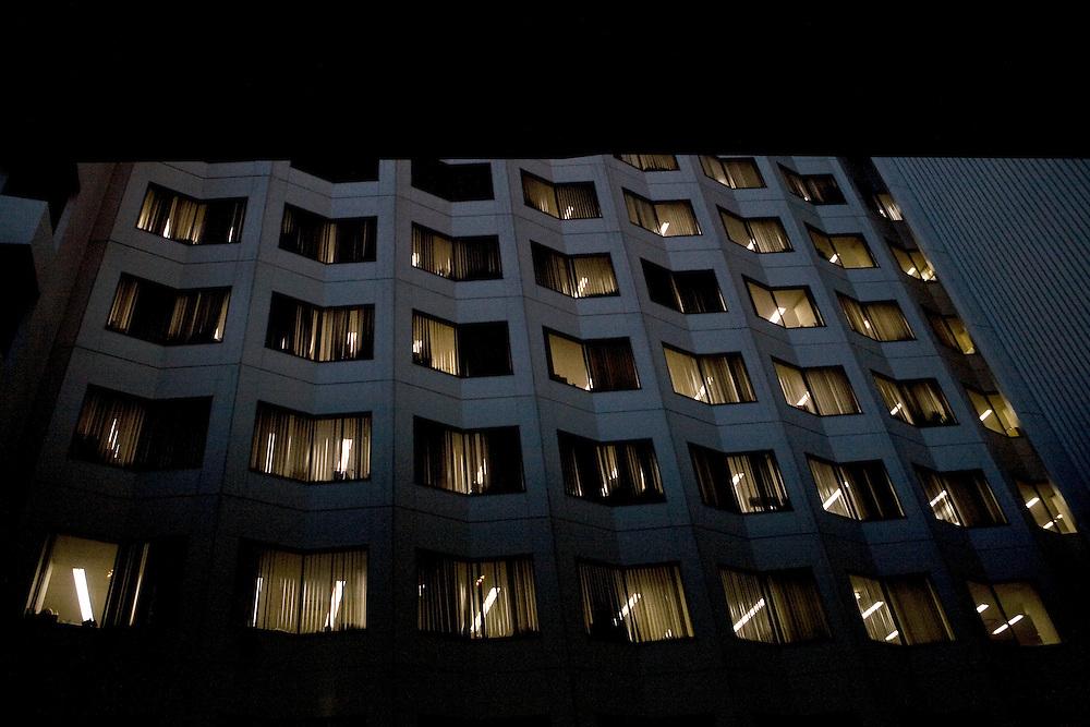 Tokyo, Japan, March 11, 2009. Exterior view of a building.<br /> <br /> Tokyo, Giappone, Marzo 2009. Esterno di un edificio.