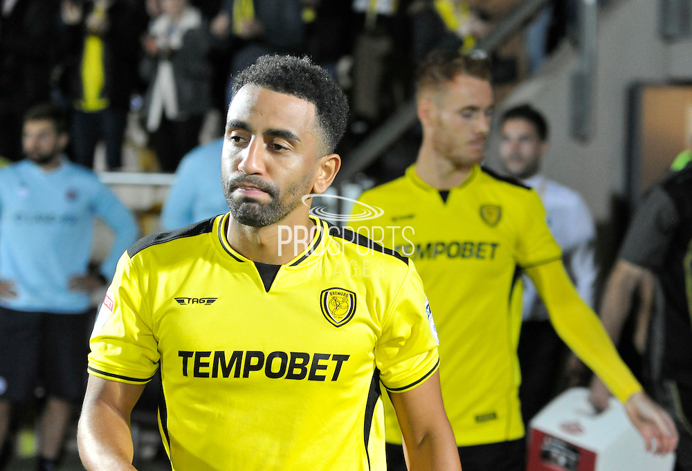 Burton Albion's Lee Williamson (7) during the EFL Sky Bet Championship match between Burton Albion and Queens Park Rangers at the Pirelli Stadium, Burton upon Trent, England on 27 September 2016. Photo by Richard Holmes.