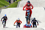 BMX Finals, Simone Tetsche Christensen (Denmark) during the Cycling European Championships Glasgow 2018, at Glasgow BMX Centre, in Glasgow, Great Britain, Day 9, on August 10, 2018 - Photo luca Bettini / BettiniPhoto / ProSportsImages / DPPI<br /> - Restriction / Netherlands out, Belgium out, Spain out, Italy out -