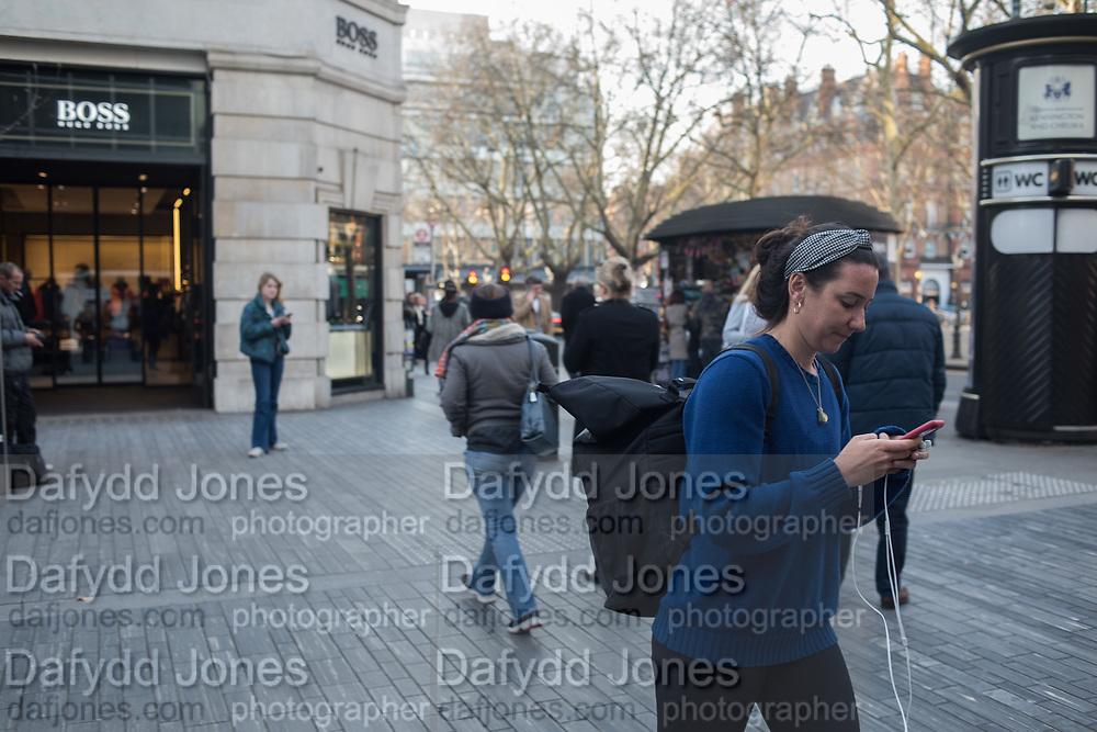 Sloane Sq.   London, 22 February 2019