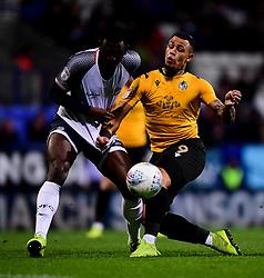 Jonson Clarke-Harris of Bristol Rovers is marked by Liam Bridcutt of Bolton Wanderers - Mandatory by-line: Ryan Hiscott/JMP - 28/01/2020 - FOOTBALL - University of Bolton Stadium - Bolton, England - Bolton Wanderers v Bristol Rovers - Sky Bet League One