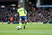 Aston Villa v Derby County - Sky Bet Championship<br /> BIRMINGHAM, ENGLAND - APRIL 28 :  curtis Davies, of Derby County, plays the ball forward