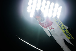 February 12, 2018 - Pyeongchang, SOUTH KOREA - 180212 Yuka Seto of Japan  competes in Ski Jumping, Women's Normal Hill Individual Final, during day three of the 2018 Winter Olympics on February 12, 2018 in Pyeongchang..Photo: Joel Marklund / BILDBYRÃ…N / kod JM / 87619 (Credit Image: © Joel Marklund/Bildbyran via ZUMA Press)