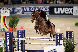 Schröder Gerco, (NED), Glock's Lausejunge<br /> Prize of Performance Sales International<br /> FEI World Cup Neumünster - VR Classics 2017<br /> © Hippo Foto - Stefan Lafrentz