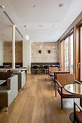 Dining Room inside Hotel Regina, Barcelona // Architect: Jordi Veciana