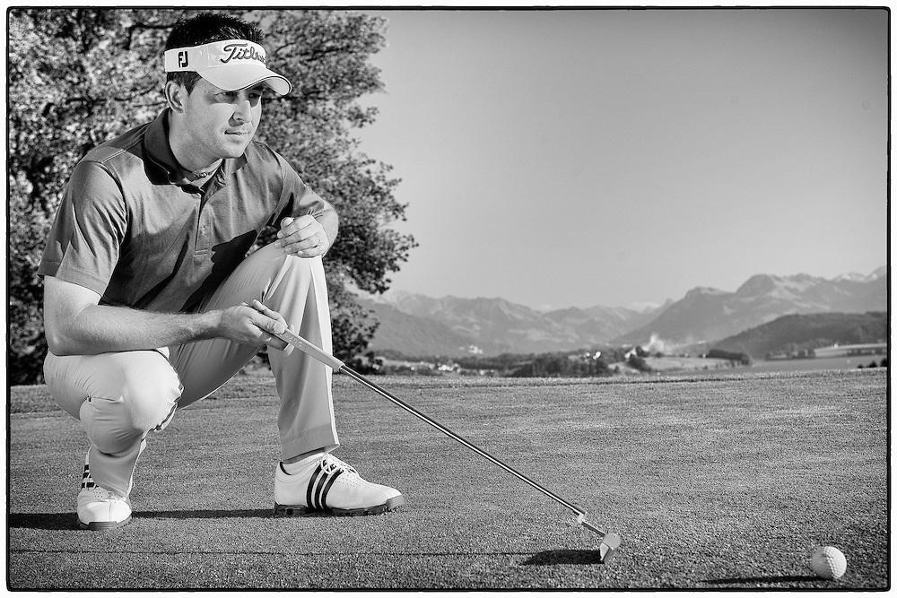 Mr. Dusson, famous professionnal golf coach