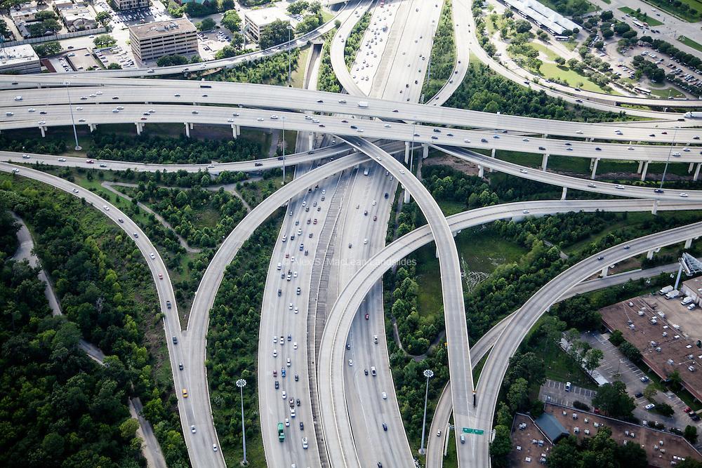 Interstate 610 and Katy Freeway Interchange