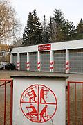 Ludwigshafen. 25.01.17 | BILD- ID 007 |<br /> Parkinsel. Feuerwehr Gerätehaus der Freiwilligen Feuerwehr soll Neubauten weichen. <br /> Bild: Markus Proßwitz 25JAN17 / masterpress
