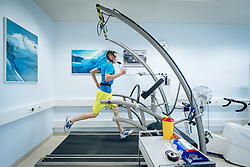 02.05.2016, Bezirkskrankenhaus, St. Johann i.T., AUT, OeSV, Skisprung, Sportmedizinische Untersuchung, im Bild Manuel Poppinger (AUT) // Manuel Poppinger of Austria undergoes his medical examination of the Austrian Skijumping Team at the Sports Medicine Institute, St. Johann i.T. on 2016/05/02. EXPA Pictures © 2016, PhotoCredit: EXPA/ JFK