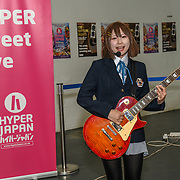 Japan Street Music at Hyper Japan Festival 2019 on 12 July 2019, Olympia London, UK.