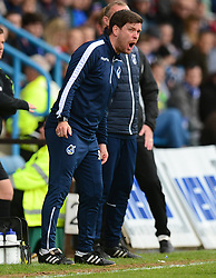 Bristol Rovers manager Darrell Clarke gives his side directions during the second half. - Mandatory by-line: Alex James/JMP - 14/04/2017 - FOOTBALL - MEMS Priestfield Stadium - Gillingham, England - Gillingham v Bristol Rovers - Sky Bet League One
