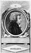 Wolfgang Amadeus Mozart (1756-1791), c1791.