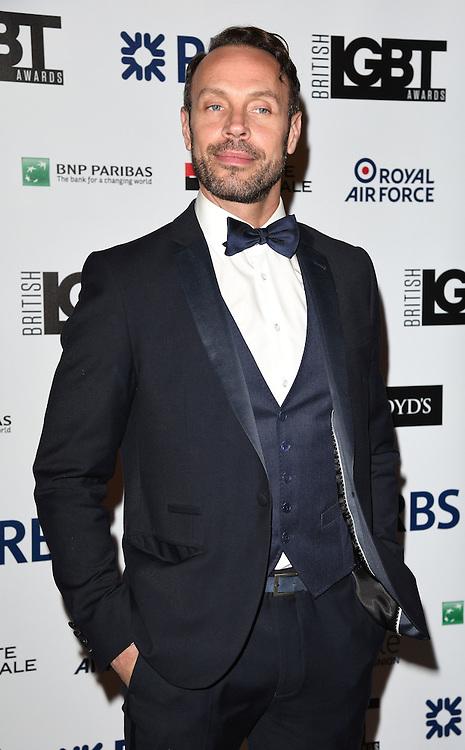 Jason Gardiner attends The British LGBT Awards at The Landmark Hotel, London on Friday 24 April 2015