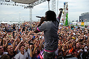 Wale performing at The Bamboozle in East Rutherford, New Jersey. May 2, 2010. Copyright © 2010 Matt Eisman. All Rights Reserved.