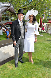 SIR BRUCE & LADY FORSYTH at the 1st day of the Royal Ascot Racing Festival 2015 at Ascot Racecourse, Ascot, Berkshire on 16th June 2015.