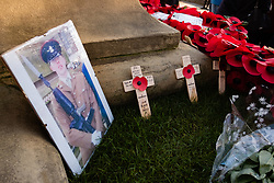 Remembrance Sunday Barnsley In memory of Pvt Matthew Thornton<br /> <br />  Copyright Paul David Drabble<br />  10 November 2019<br />  www.pauldaviddrabble.co.uk