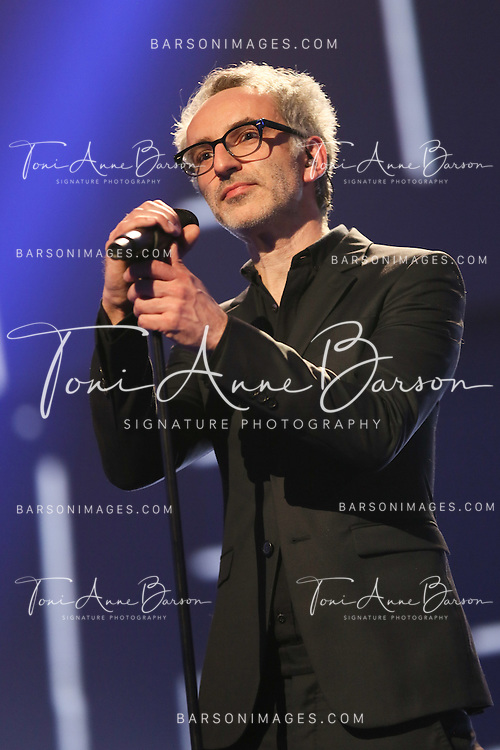 "PARIS, FRANCE - FEBRUARY 10:  Vincent Delerm performs during the ""32nd Victoires de la Musique 2017"" at Le Zenith on February 10, 2017 in Paris, France.  (Photo by Tony Barson/FilmMagic)"