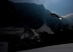 Ski jumper competes during Flying Hill Individual Third Round at 3rd day of FIS Ski Flying World Championships Planica 2010, on March 20, 2010, Planica, Slovenia.  (Photo by Vid Ponikvar / Sportida)