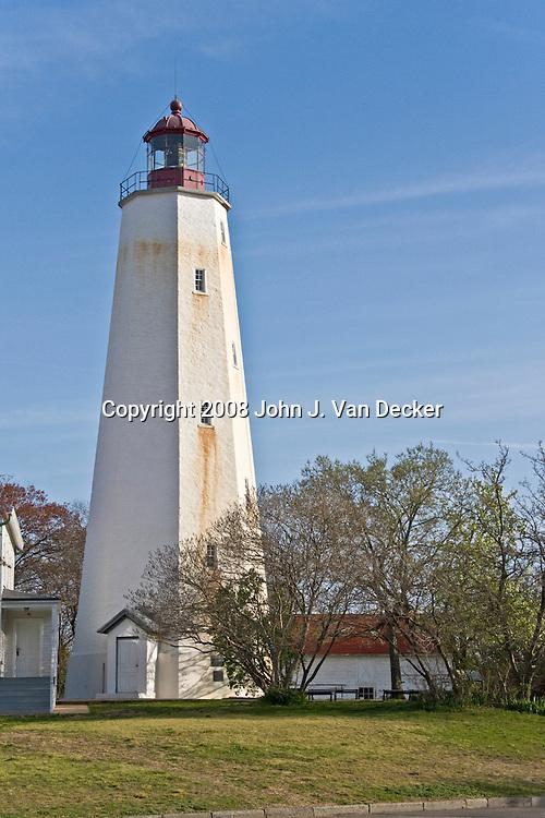 Sandy Hook Lighthouse, Sandy Hook, New Jersey, USA