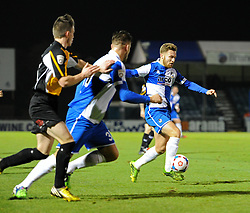 Bristol Rovers' Matty Taylor on the attack against Gateshead - Photo mandatory by-line: Paul Knight/JMP - Mobile: 07966 386802 - 19/12/2014 - SPORT - Football - Bristol - The Memorial Stadium - Bristol Rovers v Gateshead - Vanarama Conference