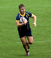 Alex Forrester (Hartpury College) of Worcester Warriors U18 - Mandatory by-line: Robbie Stephenson/JMP - 29/01/2017 - RUGBY - Sixways Stadium - Worcester, England - Worcester Warriors U18 v Sale Sharks U18 - Premiership Rugby U18 Academy League